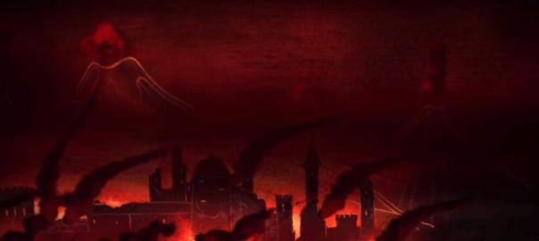 """Doom of valyria art 604x270 - دليل """"زمستان طولاني"""" چيست ؟"""