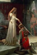 ملکه و شوالیه مراسم شوالیه کردن