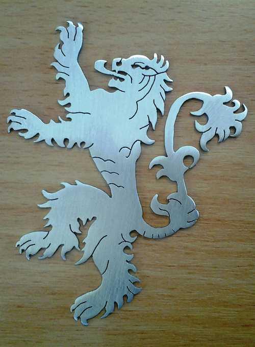 نماد خاندان لنیستر