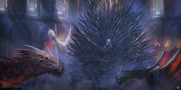 Game_of_Thrones_Concept_Art_Illustration_01_Florent_Llamas_The_Mother_of_Dragons
