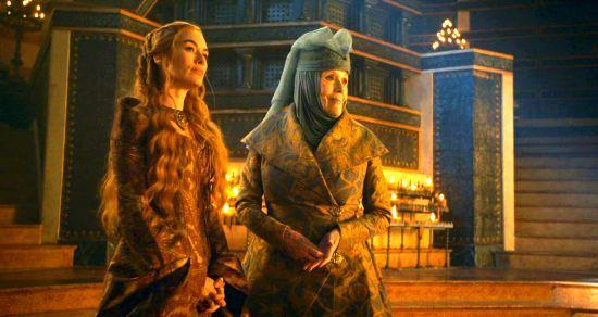 سرسی لنیستر اولنا تایرل ملکه خارها