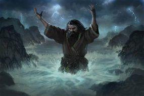 مذهب خدای مغروق در داستان نغمهای از یخ و آتش