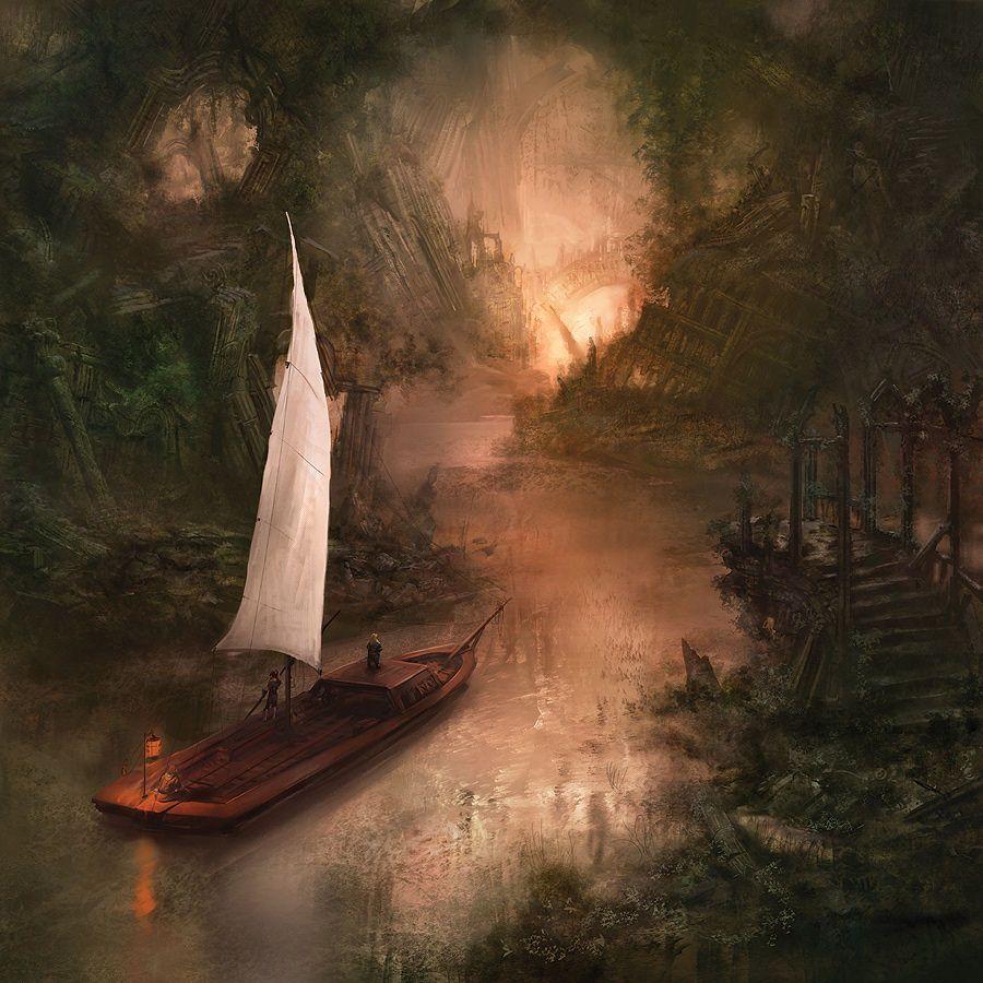 روی رودخانه روین