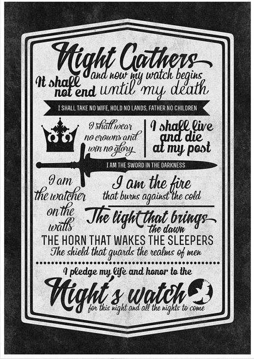 سوگند برادران شب