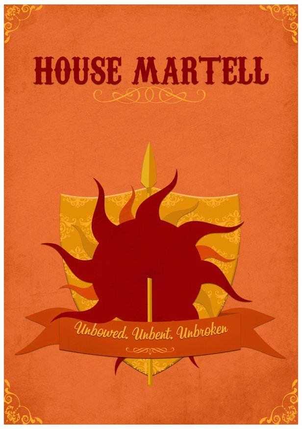 خورشید و نیزه خاندان مارتل