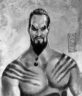 khal_drogo_caricature_sketch_by_artbymanon-d6d77vv