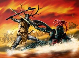 نبرد رابرت و ریگار در ترایدنت