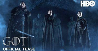 game of thrones season 8 winterfell featured 375x195 - تماشا کنید: تیزر جدید فصل آخر سریال با عنوان سردابه وینترفل!