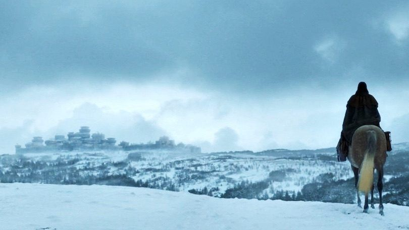 Winterfell 703 Arya Arrival Zoom 810x456 - بازگشت به وینترفل؛ آغاز به کار مجدد سایت، ترجمه فصل های جدید