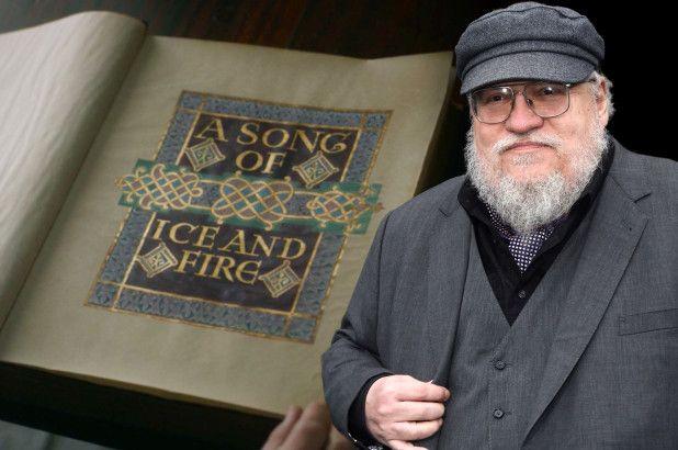جورج آر آر مارتین نویسنده کتاب های نغمه ای از یخ و آتش و سریال بازی تاج و تخت