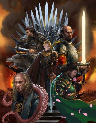 01 War Of Five Kings zippo 514 938x1200 313x400 - تحلیل و بررسی تمام رویاها و الهاماتی که دنریس در خانه نامیرایان دید
