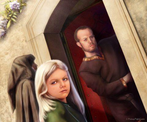 19 Young Dany House of Dreams by Thaldir 480x400 - تحلیل و بررسی تمام رویاها و الهاماتی که دنریس در خانه نامیرایان دید
