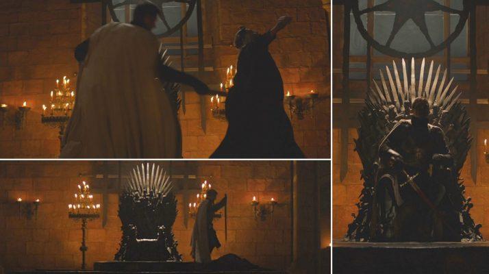 Jaime Lannister Kills Aerys Targaryen 1920x1075 714x400 - 11 حقیقت از گارد شاهی که باید بدانید!
