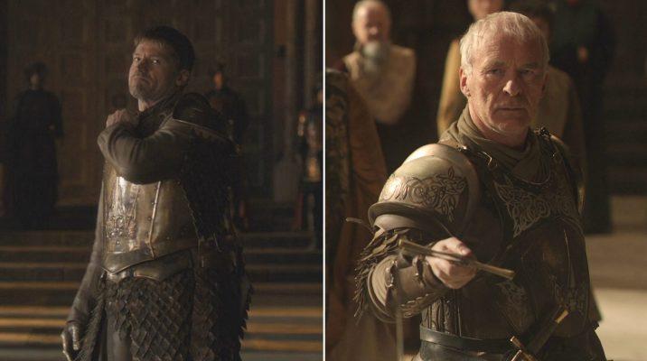 Jaime Lannister and Barristan Selmy Dismissed 1920x1073 716x400 - 11 حقیقت از گارد شاهی که باید بدانید!