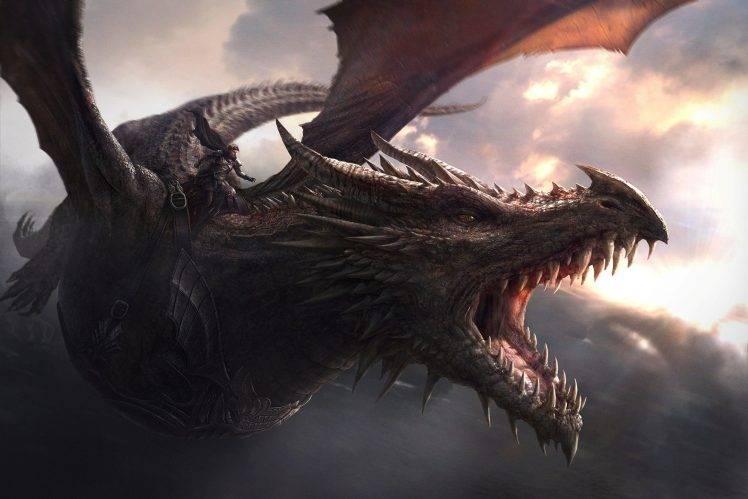 201391 dragon Game of Thrones Balerion 748x499 - اسپین آف دیگری با محوریت خاندان تارگرین در حال ساخت توسط HBO است.