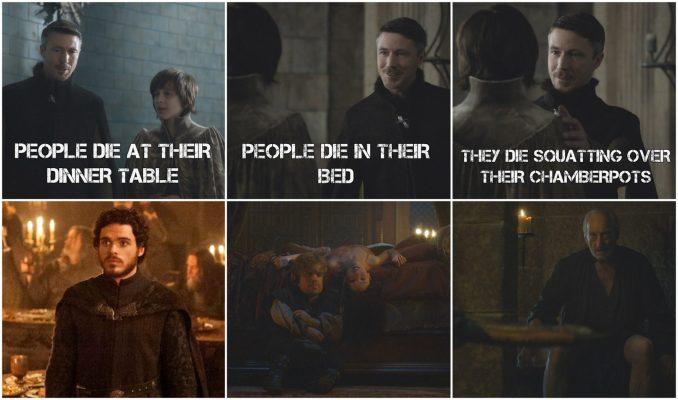 Littlefinger Predictions 1920x1133 678x400 - مرگهای نمادین و طعنه آمیز در بازی تاج و تخت (بخش دوم)
