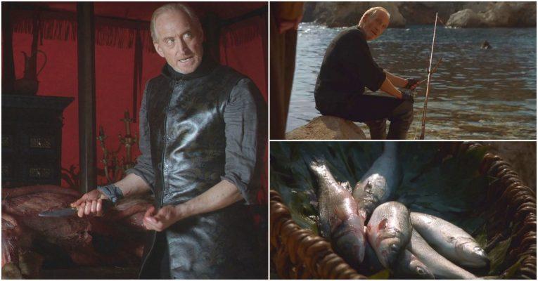 Tywin Lannister Stag and Fish Foreshadowing 1920x1004 765x400 - مرگهای نمادین و طعنه آمیز در بازی تاج و تخت (بخش دوم)