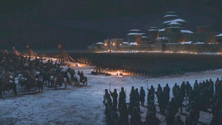 winterfell Battle of Winterfell Collater.al 2 1024x576 711x400 - تحلیل و بررسی استراتژیک جناح زندگان در نبرد شب طولانی از نگاه کارشناسان نظامی