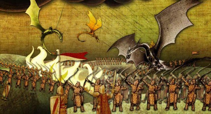 Field Of Fire Dorne vs Targaryen 742x400 - 14+1 حقیقت از خاندان تارگرین که باید بدانید.