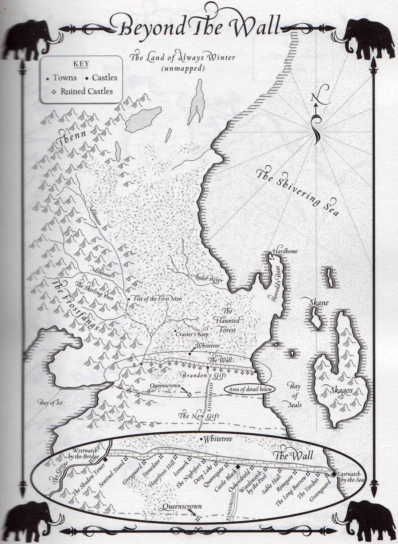 نقشه آنسوی دیوار