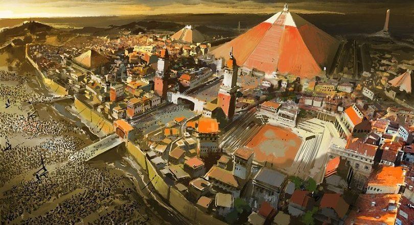 A city besieged by neisbeis d5paski 810x441 - کتاب پنجم - فصل ۲۵ - بادبرده ها