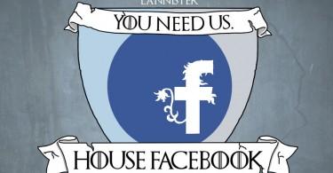 facebook 375x195c - اگر شبکه های اجتماعی خاندان های وستروس باشند